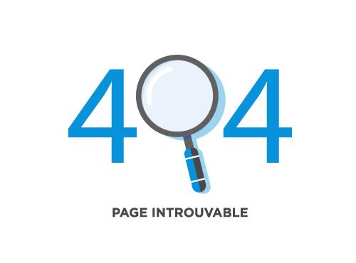 Page introuvable - Erreur 404